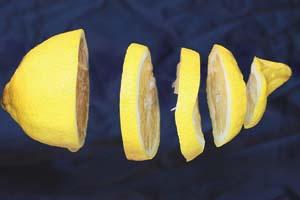 Cómo rallar la piel del limón