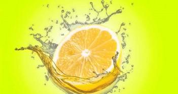 Limón para las manchas de desodorante