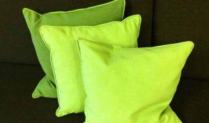 Limpiar las almohadas con amoniaco