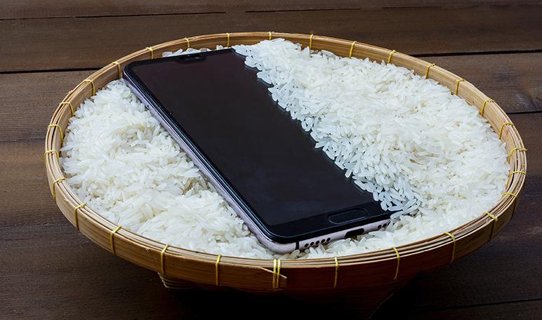 Qué hacer cuando el teléfono móvil se cae al agua - Trucos de hogar caseros