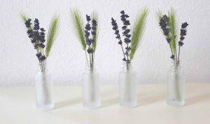 Sal marina para eliminar el mal olor de los floreros - Trucos de hogar caseros