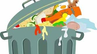 Eliminar el mal olor del cubo de basura con bicarbonato