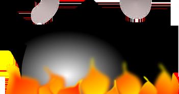Limpiar una olla quemada con vinagre