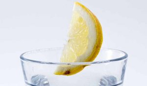 Ambientador de nevera de limón
