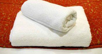 Toallas de baño suaves con amoniaco