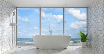 Bañera limpia con vinagre, bicarbonato, sal y limón - Trucos de hogar caseros