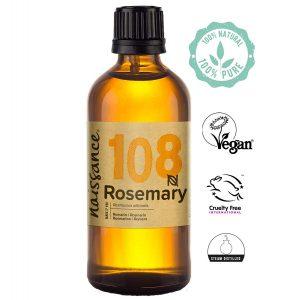 Aceite esencial de romero 100 % puro de Naissance
